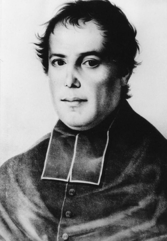 Fondateur jeune prêtre